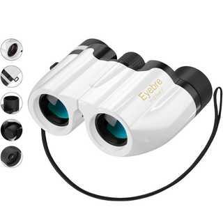 ★大人気★ コンパクト 双眼鏡 超軽量 10倍拡大 ホワイト(登山用品)