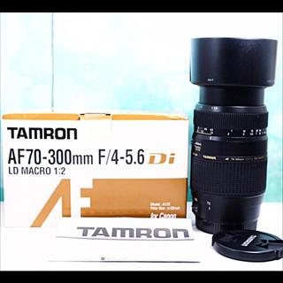 タムロン(TAMRON)のTAMRON AF  70-300mm  F4-5.6 Di LD Macro(レンズ(ズーム))