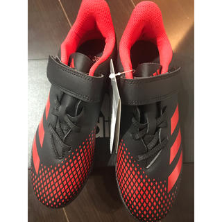 アディダス(adidas)の新品 アディダス サッカー トレーニングシューズ ジュニア キッズ(シューズ)