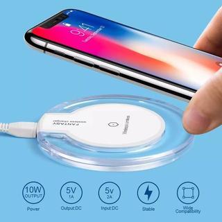 【即日発送!!】携帯 スマホ ワイヤレス 充電器 充電 ポータブル(バッテリー/充電器)