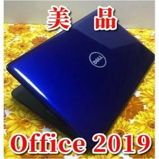 デル(DELL)の美品!最新オフィス2019搭載!  DELL カメラ マルチ(ノートPC)