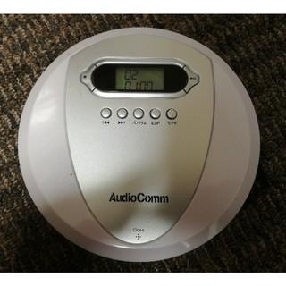 オームデンキ(オーム電機)のオーム電機 CDプレーヤー CDP-3866Z アップル製イヤフォン(ポータブルプレーヤー)