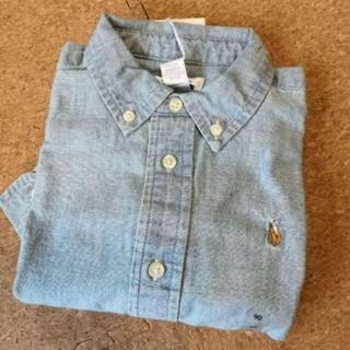 ラルフローレン(Ralph Lauren)のラルフローレンデニムシャツ90センチ新品(ブラウス)