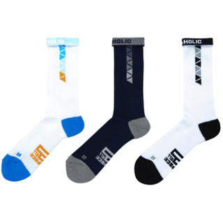 STREET SOCKS / ballaholic 1足 真ん中の商品が対象(バスケットボール)