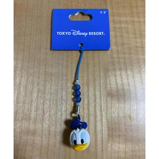 ディズニー(Disney)のドナルド ストラップ 鈴付き(キャラクターグッズ)