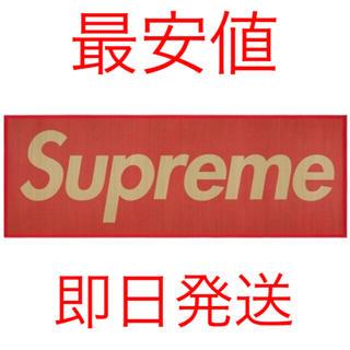 シュプリーム(Supreme)の新品未使用 送料無料 Supreme Woven Straw Mat ゴザ 赤(その他)