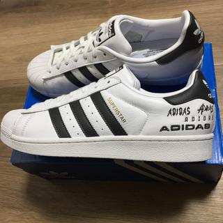 アディダス(adidas)の新品!正規品adidas アディダス スーパースターW ロゴポイント27.5cm(スニーカー)