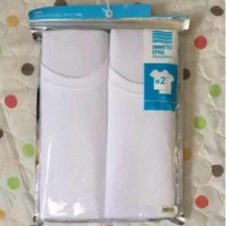 ジーユー(GU)の★新品★半袖 肌着 2枚セット(Tシャツ/カットソー(半袖/袖なし))