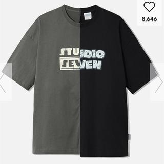 ジーユー(GU)のgu studio seven big tee XL(Tシャツ/カットソー(半袖/袖なし))