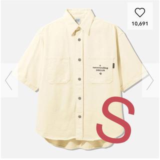 ジーユー(GU)のデニムワークシャツ(シャツ)