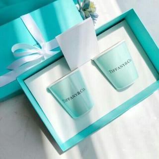 Tiffany & Co. - ティファニー ボーンチャイナ ペーパーカップ 2個セット ペア マグ カップ