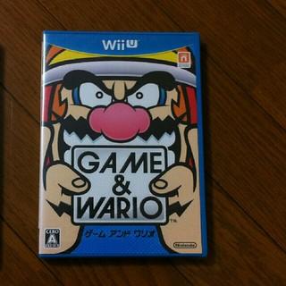 ウィーユー(Wii U)の新品未開封 WiiU ゲーム&ワリオ(家庭用ゲームソフト)