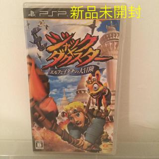 プレイステーションポータブル(PlayStation Portable)のジャック×ダクスター ~エルフとイタチの大冒険~ PSP(携帯用ゲームソフト)