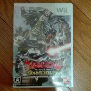 ウィー(Wii)の大怪獣バトル ウルトラコロシアム(家庭用ゲームソフト)