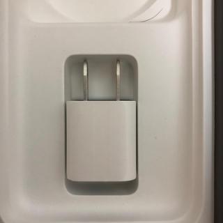 アップル(Apple)のiPhone 8付属 USBアダプター Apple 充電器 新品 純正(バッテリー/充電器)