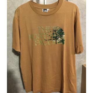 ザノースフェイス(THE NORTH FACE)のMサイズ ベージュ(Tシャツ/カットソー(半袖/袖なし))