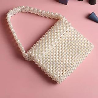 リリーブラウン(Lily Brown)の♡ Perl bag ♡(ハンドバッグ)
