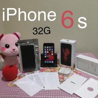アイフォーン(iPhone)のiPhone6s 32G 美品♪(スマートフォン本体)