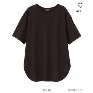 ジーユー(GU)のヘビーウェイトオーバーサイズ Tシャツ(Tシャツ(半袖/袖なし))