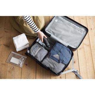 ムジルシリョウヒン(MUJI (無印良品))の無印良品 ストッパー付きハードキャリー35L 黒(スーツケース/キャリーバッグ)