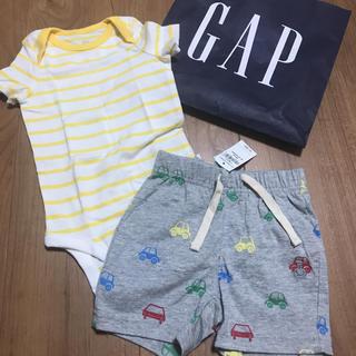 babyGAP - ギャップ70☺︎ロンパース、ショートパンツ  プチバトー、マリメッコ好きに