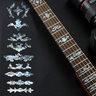 【新品】【送料無料】 ギターに貼る ポジションマーク ステッカー(アコースティックギター)