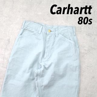カーハート(carhartt)の80s Miss Carhartt カーハート ペインターパンツ 織りタグ レア(ワークパンツ/カーゴパンツ)