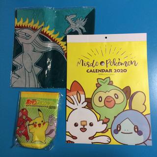 ポケモン(ポケモン)のポケモン  バンダナ  ペットボトルホルダー  カレンダー(キャラクターグッズ)