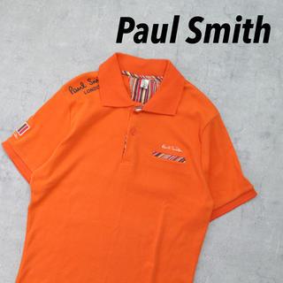Paul Smith - Paul Smith ポールスミス ロゴ刺繍 ロゴプリント オレンジ タイト