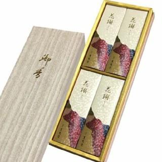 お線香  花淋  (白檀の香り)  4箱(お香/香炉)
