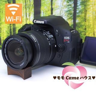 キヤノン(Canon)のキヤノン Kiss X5☆液晶画面が動く一眼レフ♪スマホ転送OK☆863(デジタル一眼)
