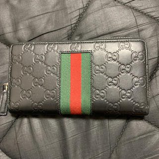 グッチ(Gucci)のGUCCI ラウンドファスナー 財布(長財布)