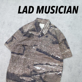 ラッドミュージシャン(LAD MUSICIAN)のLAD MUSICIAN ラッドミュージシャン 転写プリント 総柄 モード レア(シャツ)
