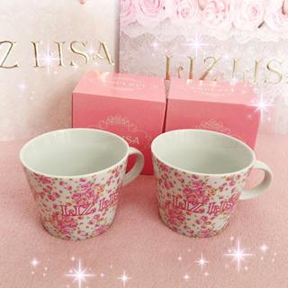LIZ LISA - ☆リズリサLIZLISA☆ノベルティ☆お花柄マグカップ2個セット☆新品