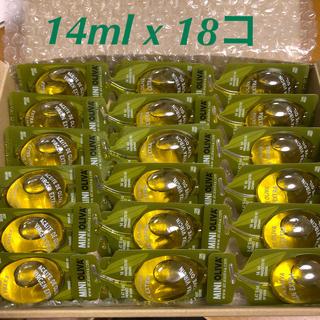 コストコ(コストコ)のコストコ 個包装エクストラバージンオリーブオイル MINIOLIVA 18個(調味料)