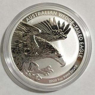 オナガイヌワシ 1オンス銀貨 2020年オーストラリア カプセル付き新品(貨幣)