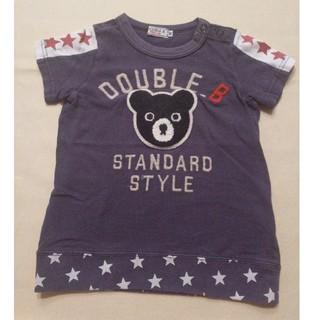 ダブルビー(DOUBLE.B)のダブルB 半袖Tシャツ 90(Tシャツ/カットソー)