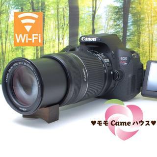 キヤノン(Canon)のキヤノン Kiss X6i★タッチパネル操作&動く液晶画面☆857(デジタル一眼)