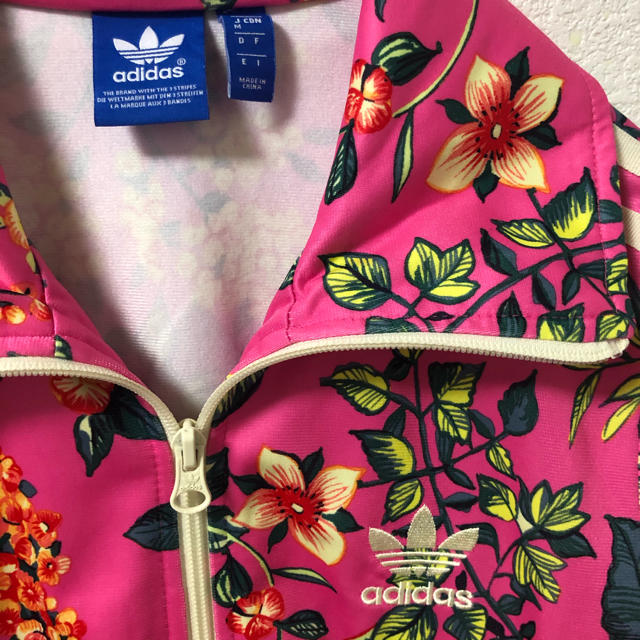 adidas(アディダス)のadidas レア 花柄 ボタニカル パーカー stussy ノースフェイス # レディースのトップス(パーカー)の商品写真