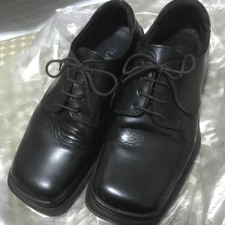 プラダ(PRADA)のPRADA  スクエア型革靴(ドレス/ビジネス)