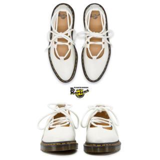 ドクターマーチン(Dr.Martens)のマーチン メリージェーン 白(ローファー/革靴)
