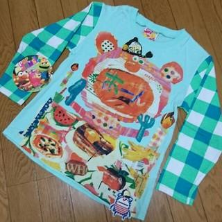 ジャム(JAM)の水通しのみ♡jam130 あーん🍴ロンT (Tシャツ/カットソー)