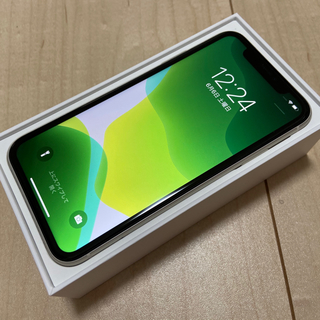アイフォーン(iPhone)の値下可能★新品同様★一括購入iPhone11 256GB国内版SIMフリー白(スマートフォン本体)