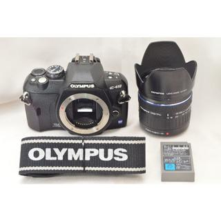 オリンパス(OLYMPUS)のF06★OLYMPUS E-410 レンズキット  #2663A-5(デジタル一眼)