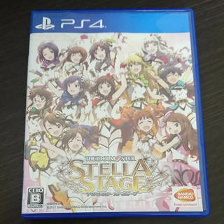 プレイステーション4(PlayStation4)の超美品! 最安値! 使用数回のみ! アイドルマスター ステラステージ(家庭用ゲームソフト)