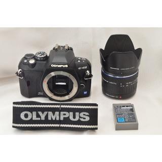 オリンパス(OLYMPUS)のF06★OLYMPUS E-410 レンズキット  #2663B(デジタル一眼)