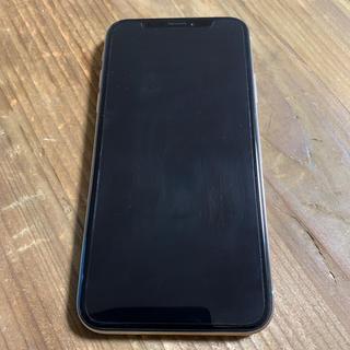 アイフォーン(iPhone)の極美品 iPhone X 64GB Silver SIMフリー(スマートフォン本体)