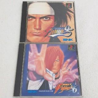 プレイステーション(PlayStation)のキング・オブ・ファイターズ'95 '96 2本セット!(家庭用ゲームソフト)