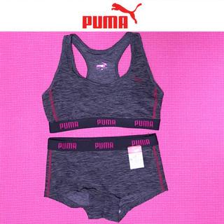 プーマ(PUMA)の新品未使用!PUMA プーマ ブラトップ トレーニングウェア 上下セット(ウェア)