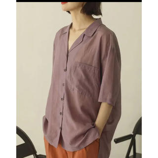 TODAYFUL - TODAYFUL トゥデイフル  Silk Boyfriend Shirts